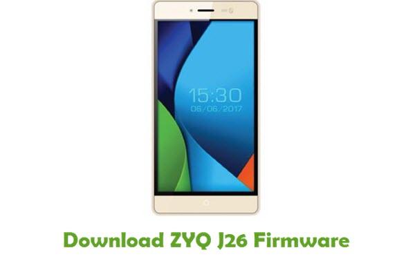 Download ZYQ J26 Stock ROM