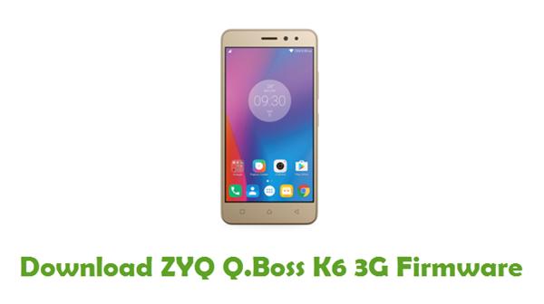 ZYQ Q.Boss K6 3G Stock ROM