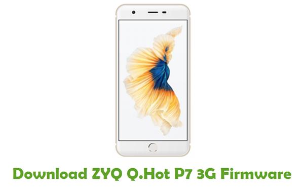 Download ZYQ Q.Hot P7 3G Stock ROM