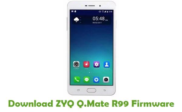 Download ZYQ Q.Mate R99 Stock ROM