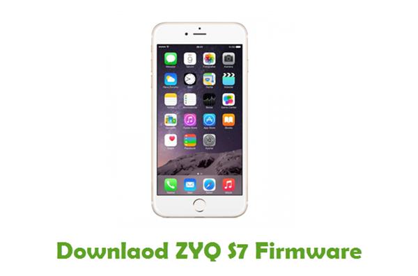 Download ZYQ S7 Stock ROM