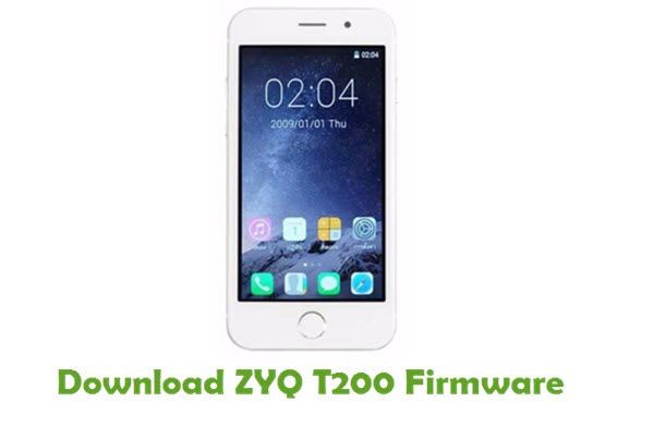 Download ZYQ T200 Firmware