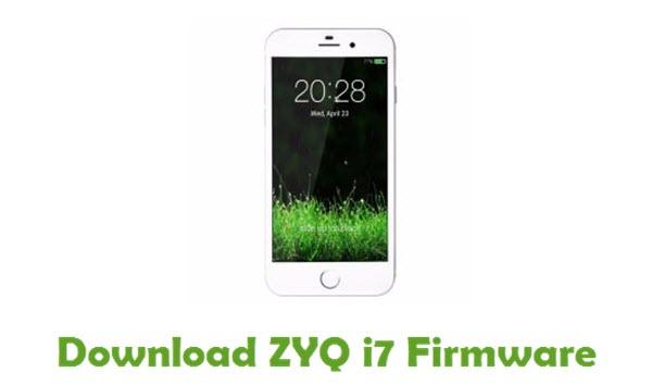 Download ZYQ i7 Stock ROM