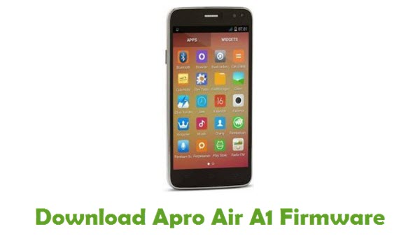 Download Apro Air A1 Firmware