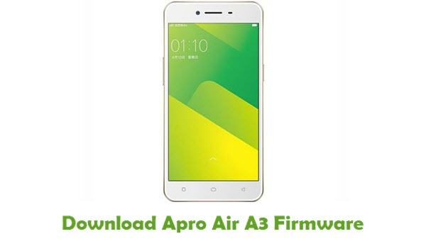 Apro Air A3 Stock ROM