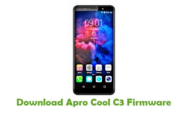 Download Apro Cool C3 Firmware