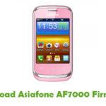 Asiafone AF7000 Firmware