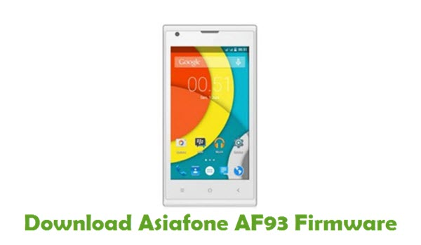 Download Asiafone AF93 Stock ROM