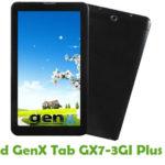 GenX Tab GX7-3GI Plus Firmware
