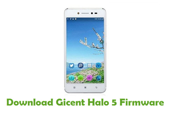 Gicent Halo 5 Stock ROM