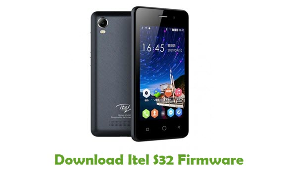 Download Itel S32 Firmware