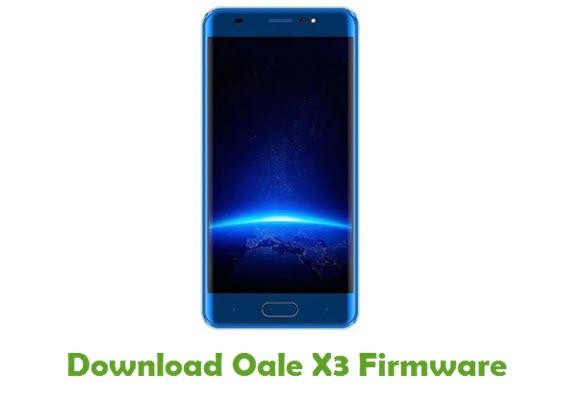Oale X3 Stock ROM