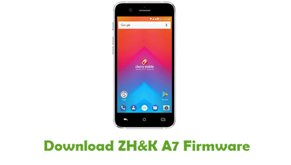 Download ZH&K A7 Stock ROM