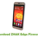 ZH&K Edge Firmware