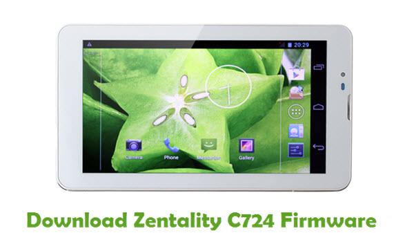 Zentality C724 Stock ROM