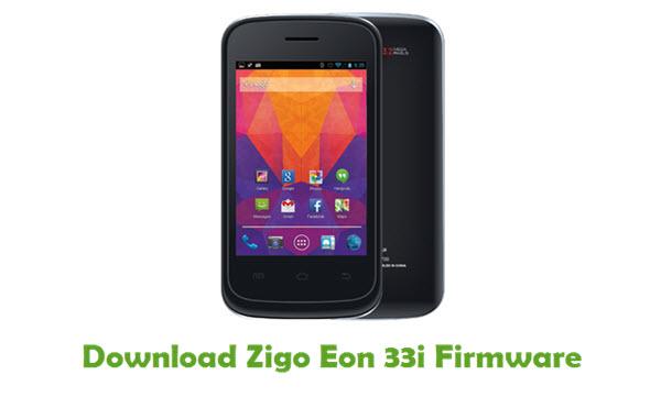 Download Zigo Eon 33i Stock ROM