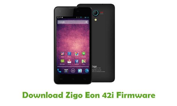 Download Zigo Eon 42i Stock ROM