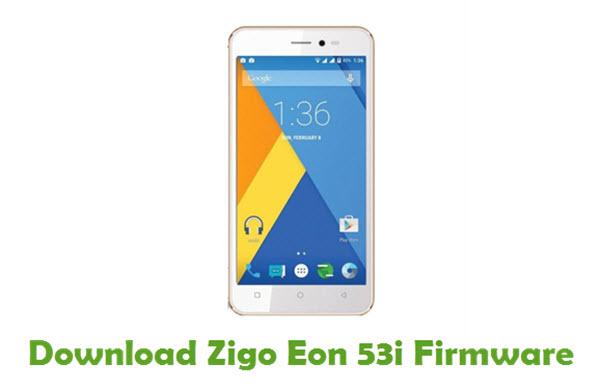 Zigo Eon 53i Stock ROM