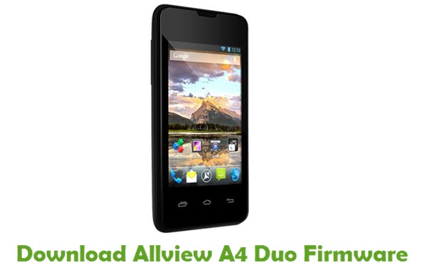 Download Allview A4 Duo Firmware