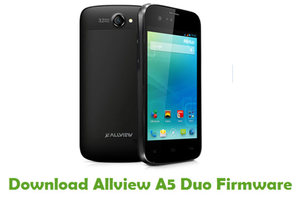 Download Allview A5 Duo Firmware