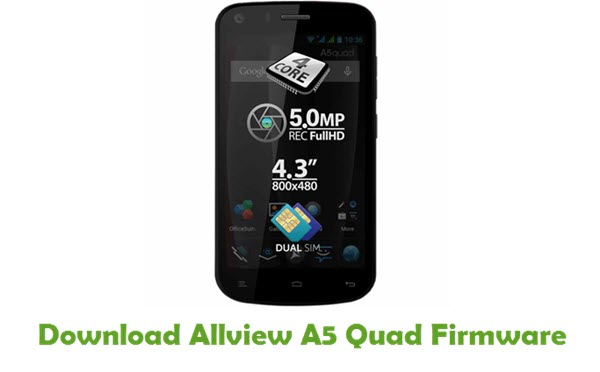 Download Allview A5 Quad Firmware