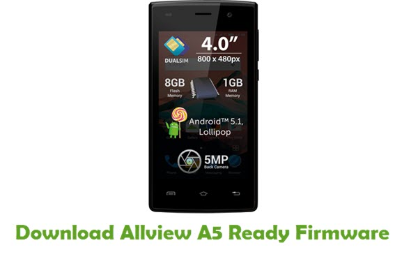 Allview A5 Ready Stock ROM