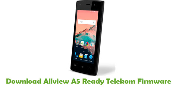 Download Allview A5 Ready Telekom Firmware