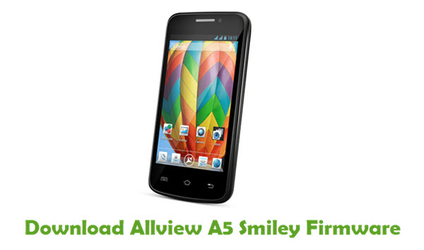 Download Allview A5 Smiley Firmware