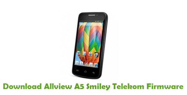 Allview A5 Smiley Telekom Stock ROM