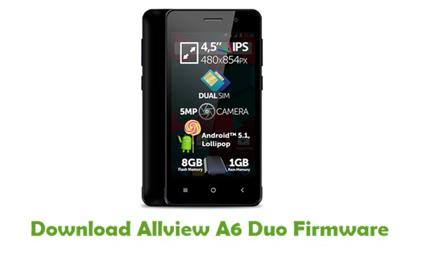Download Allview A6 Duo Firmware