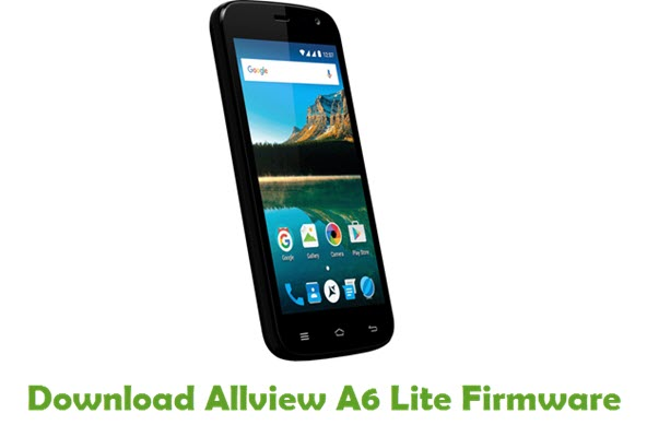 Allview A6 Lite Stock ROM