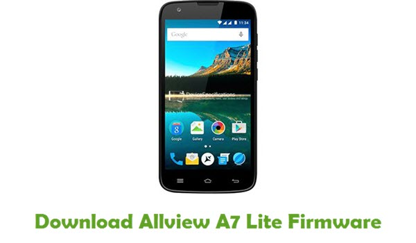 Download Allview A7 Lite Firmware
