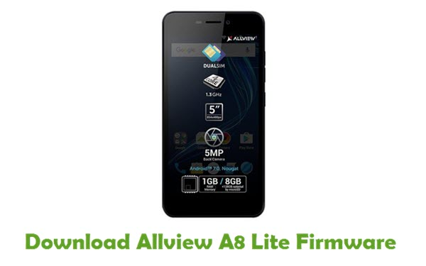 Download Allview A8 Lite Firmware