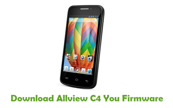 Download Allview C4 You Stock ROM