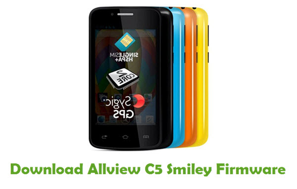 Download Allview C5 Smiley Firmware