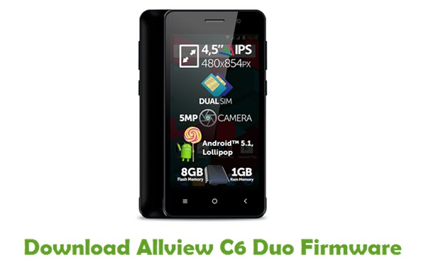 Download Allview C6 Duo Firmware