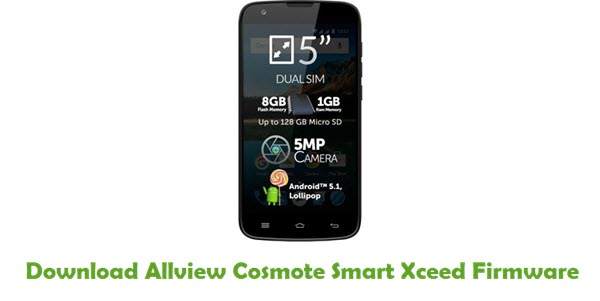 Download Allview Cosmote Smart Xceed Firmware