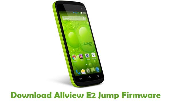 Download Allview E2 Jump Firmware