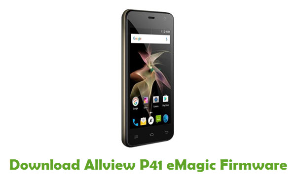 Download Allview P41 eMagic Firmware
