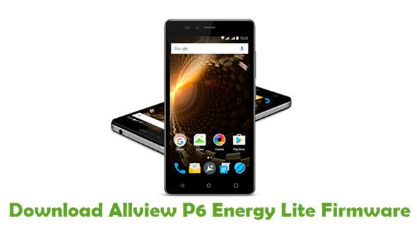 Download Allview P6 Energy Lite Firmware