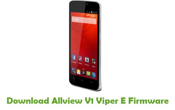 Download Allview V1 Viper E Firmware