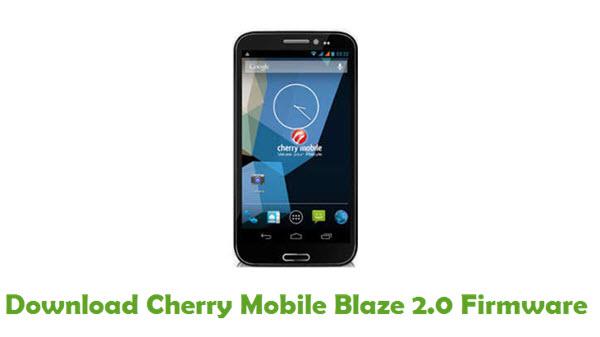 Cherry Mobile Blaze 2.0 Stock ROM