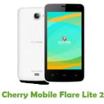 Cherry Mobile Flare Lite 2 Firmware