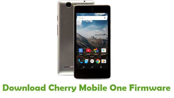 Cherry Mobile One Stock ROM