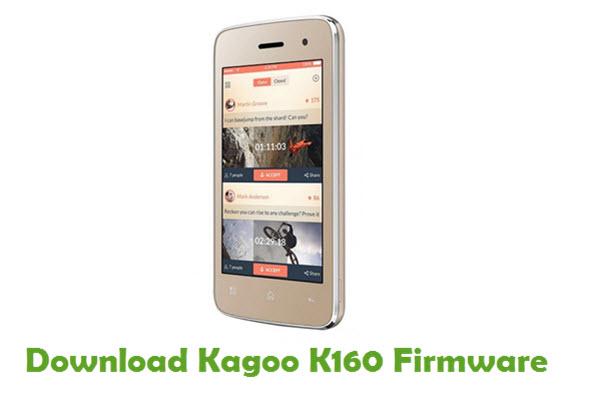 Download Kagoo K160 Stock ROM