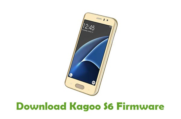 Download Kagoo S6 Stock ROM