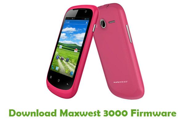 Maxwest 3000 Stock ROM