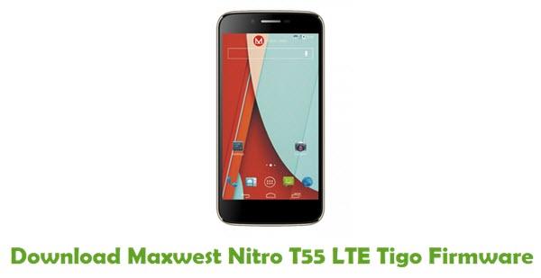 Maxwest Nitro T55 LTE Tigo Stock ROM
