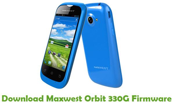 Maxwest Orbit 330G Stock ROM