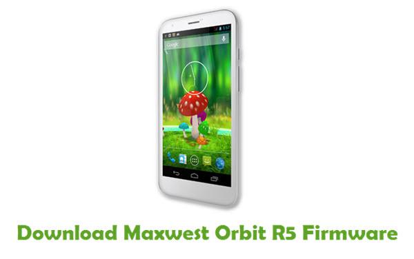 Maxwest Orbit R5 Stock ROM